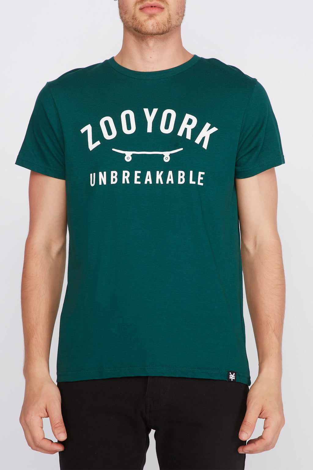 Zoo York Mens Unbreakable Skateboard Logo T-Shirt
