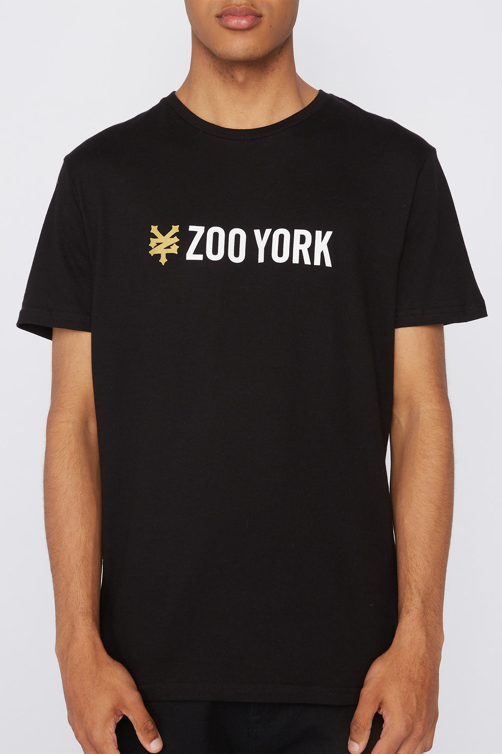 Zoo York Mens Black Box Logo T-Shirt