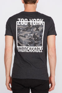 Zoo York Mens Unbreakable Camo Box T-Shirt