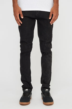 Zoo York Mens Skinniest Black Jeans