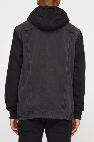 West49 Mens Denim and Fleece Jacket