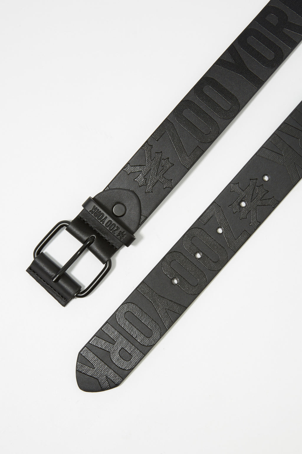 Zoo York Mens Debossed Logo Belt