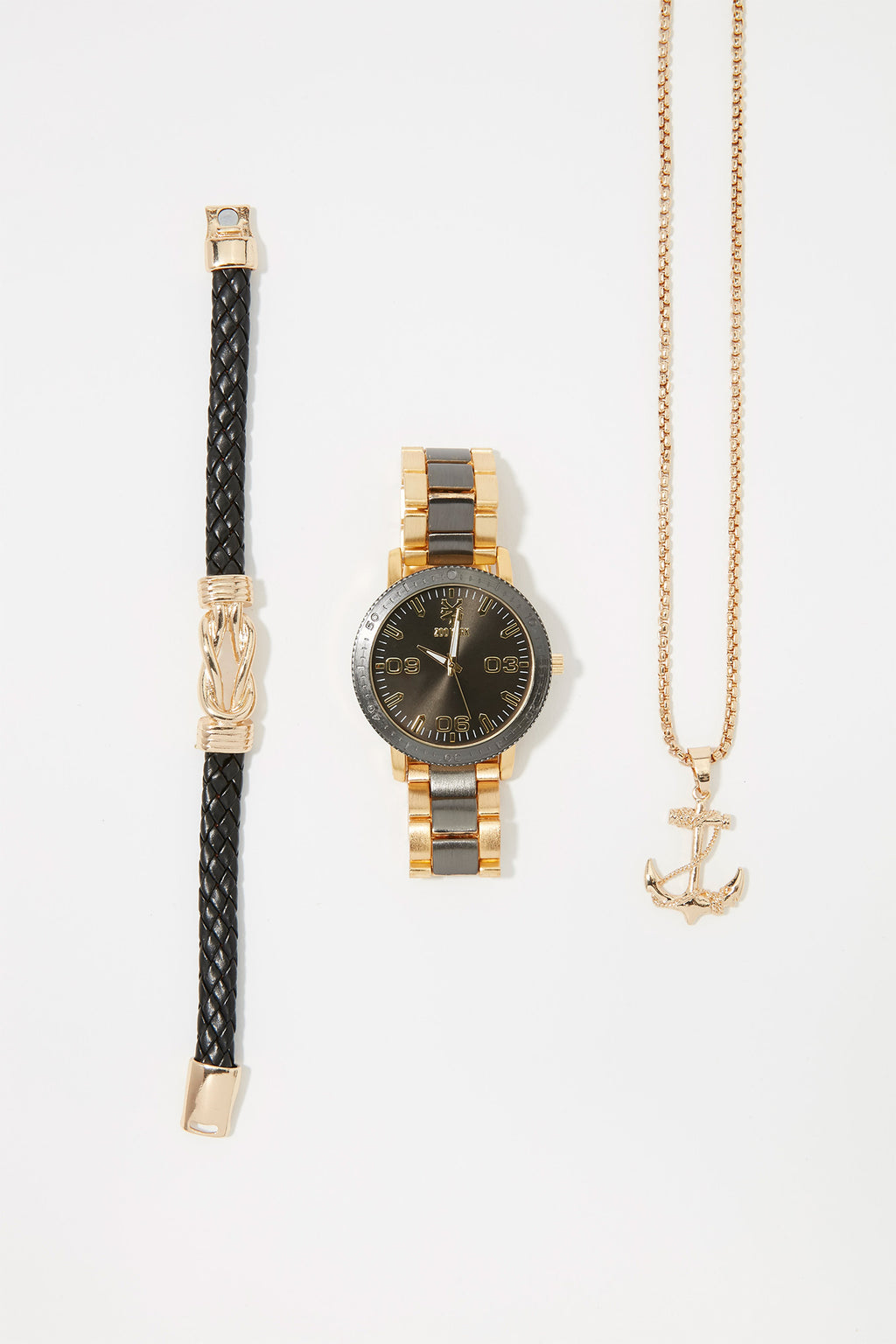 Zoo York Mens Gold Metal Watch