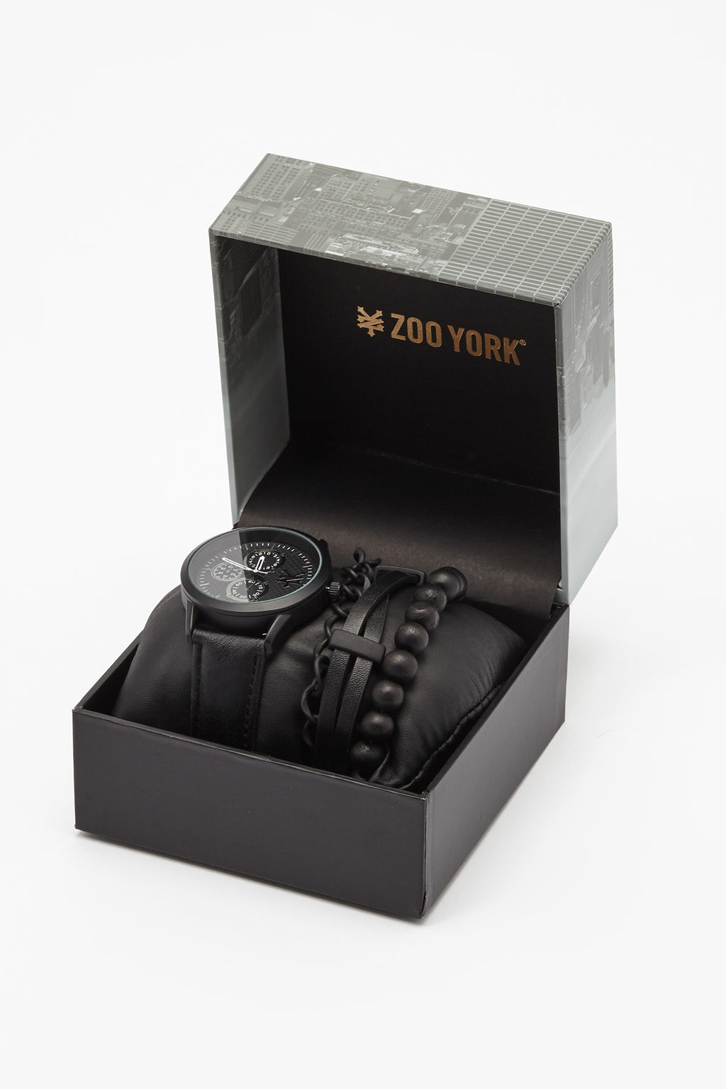 Zoo York Mens All Black Chronograph Watch