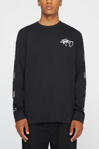 Zoo York Mens Long Sleeve Graffiti Tee