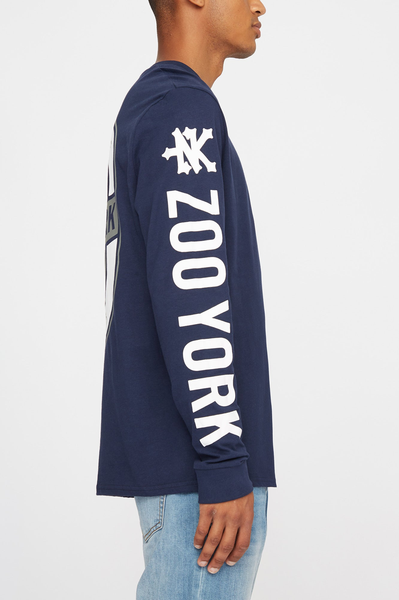 Zoo York Mens Bear Long Sleeve Tee