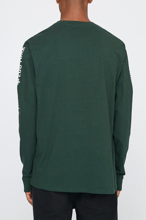 Zoo York Mens Black Box Logo Long Sleeve T-Shirt