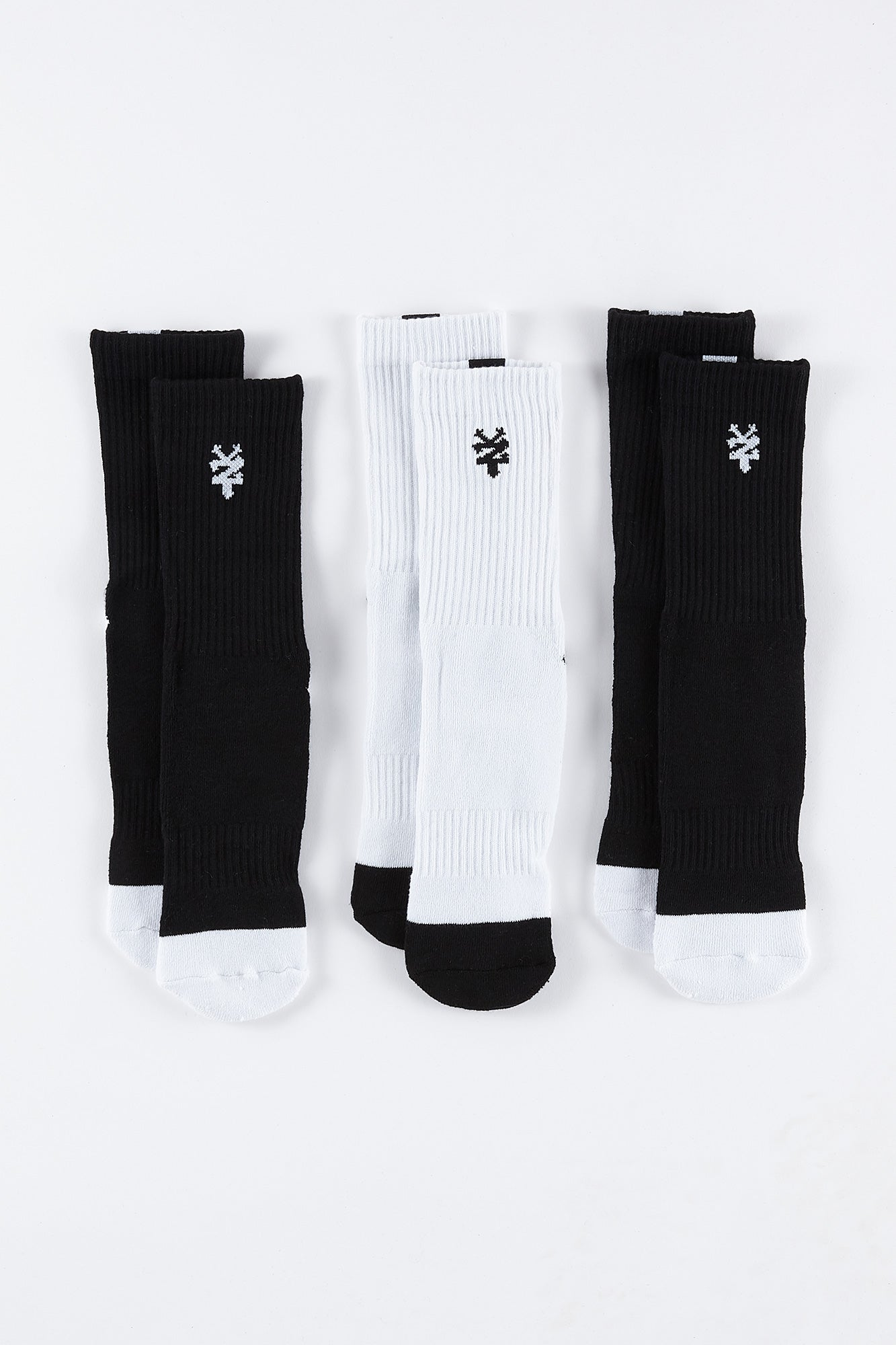 Zoo York Mens 3-Pack Socks