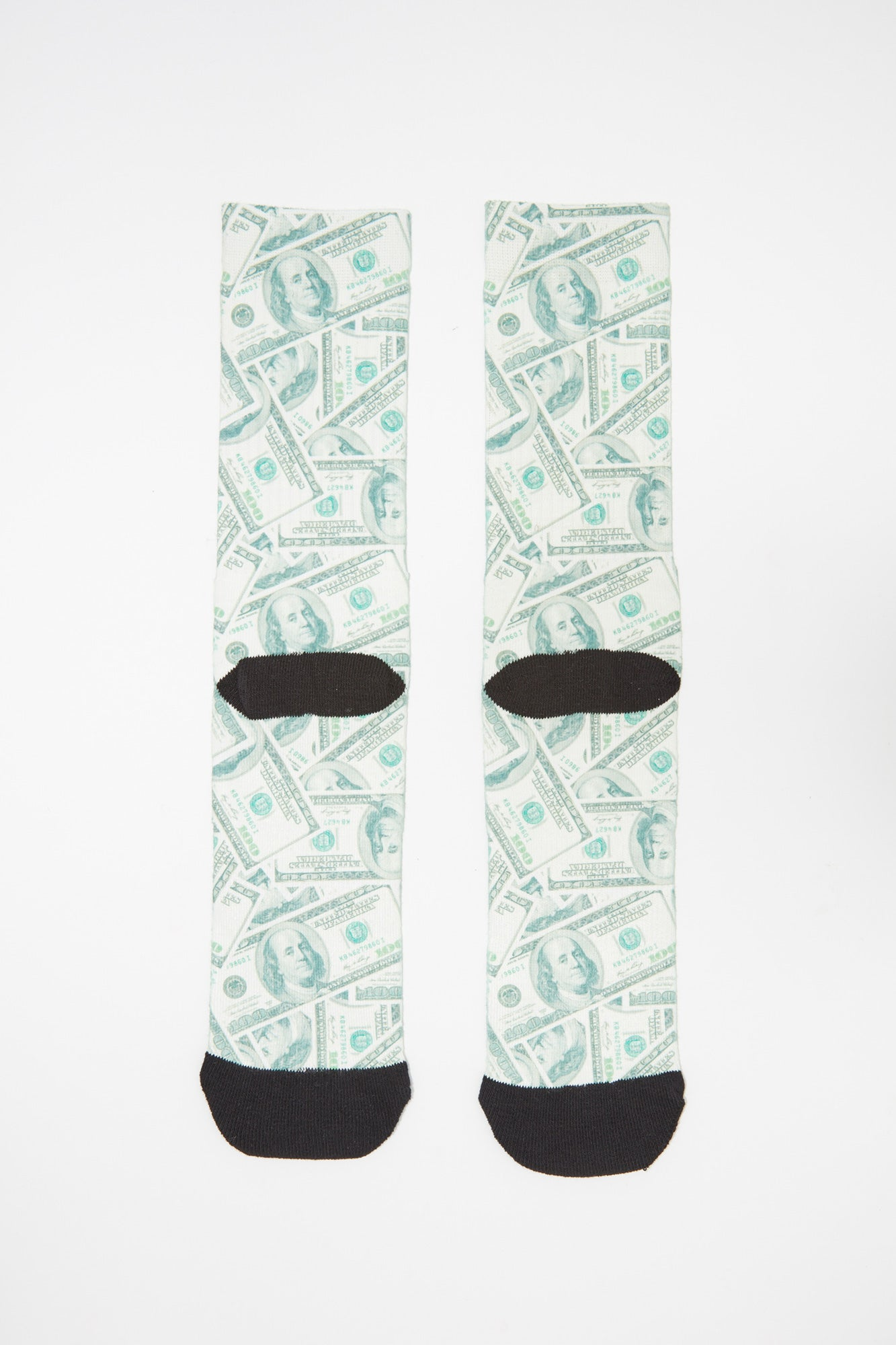 Zoo York Mens Money Jacquard Crew Socks