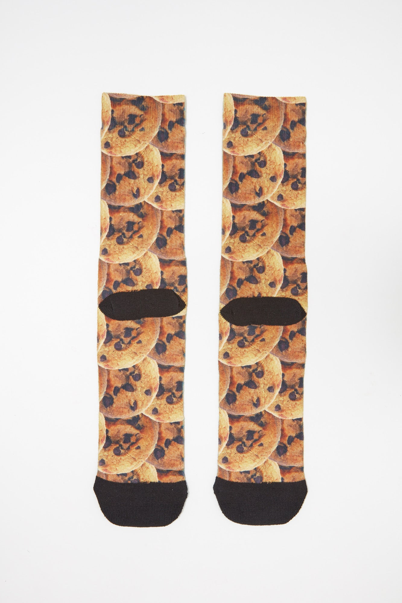 Zoo York Mens Cookies Jacquard Crew Socks