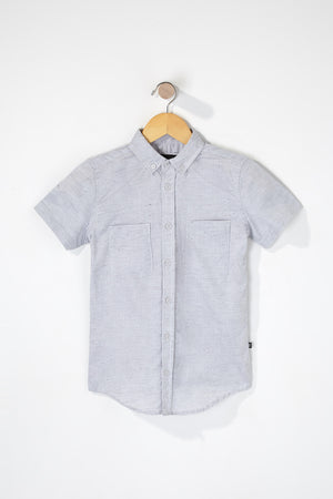 West49 Boys 2-Pocket Button Up Shirt
