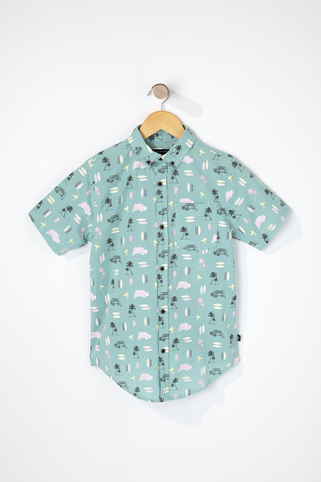 West49 Boys Surf Button Up Shirt