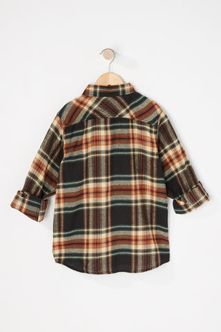 West 49 Boys Plaid Shirt