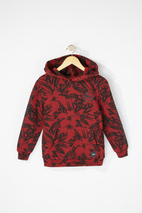 Young & Reckless Boys Floral Hoodie