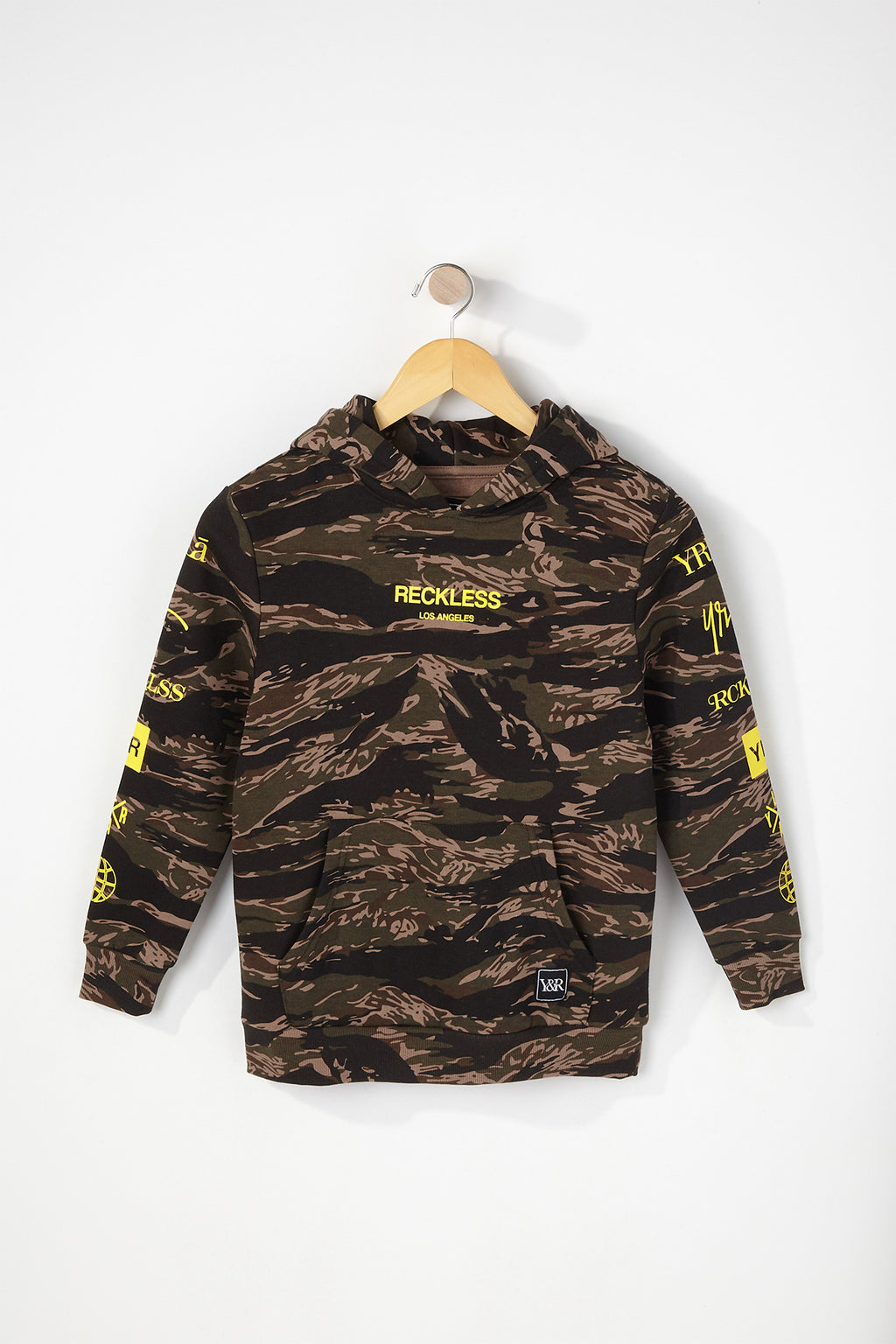 Young & Reckless Boys Tiger Camo Hoodie