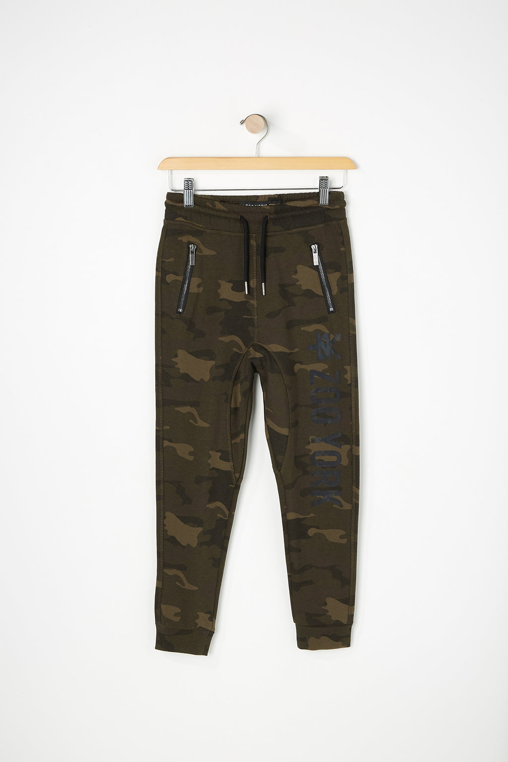 Zoo York Boys Camo Zip Pocket Jogger