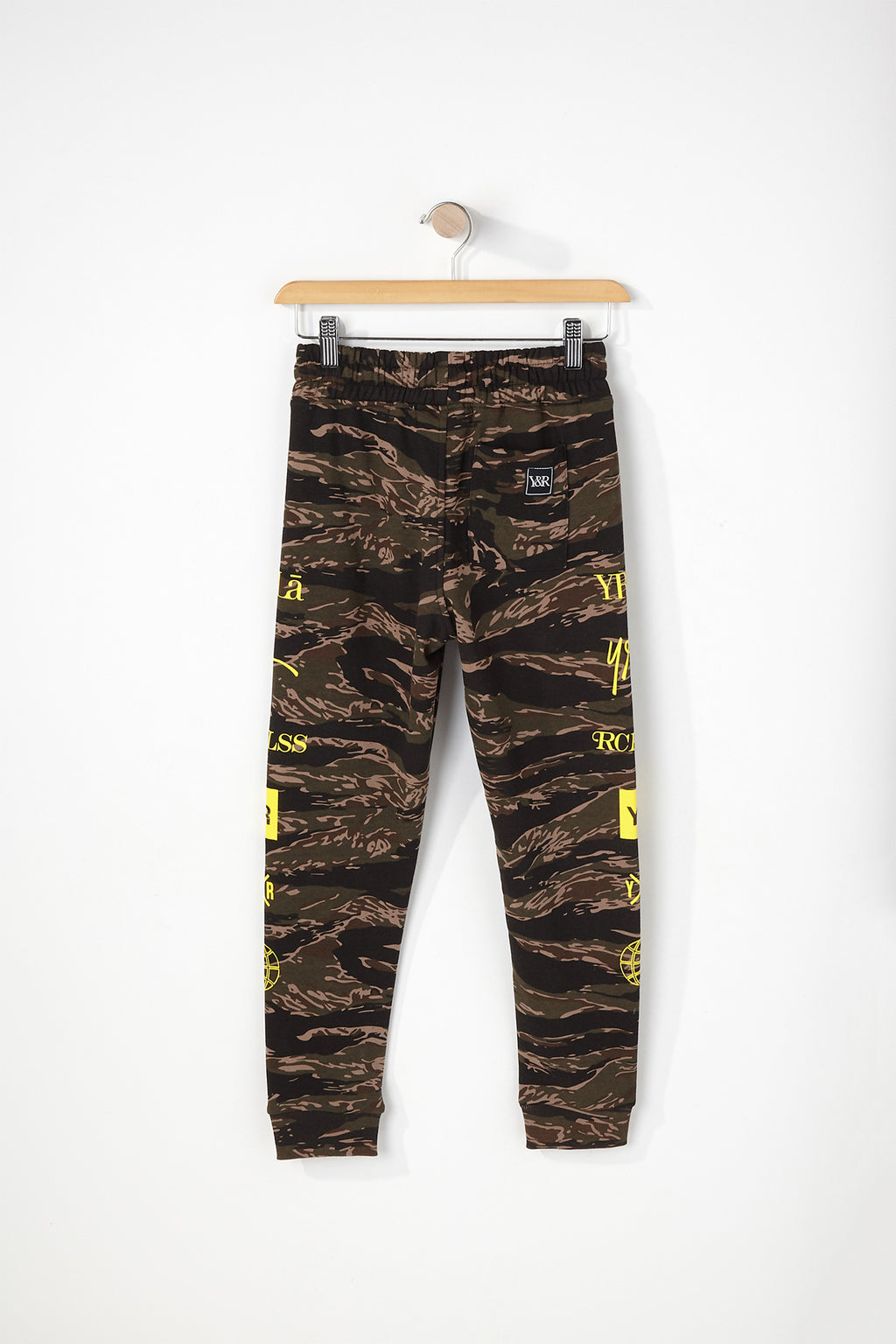 Young & Reckless Boys Tiger Camo Jogger