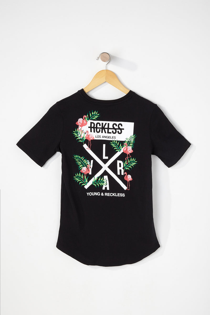 Young & Reckless Boys Flamingo T-Shirt