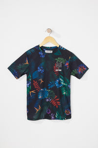 Zoo York Boys Floral T-Shirt