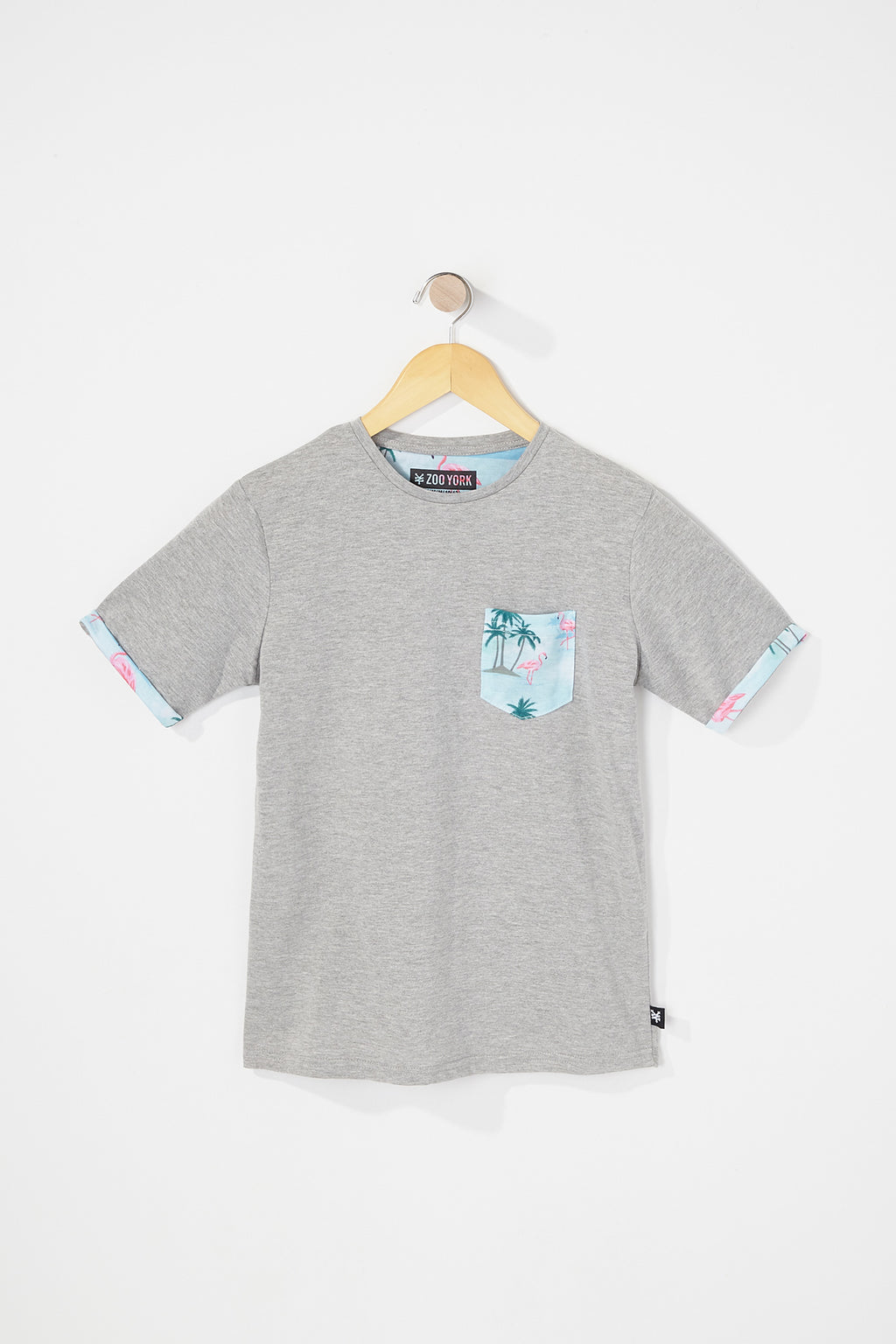 Zoo York Boys Graphic Pocket Tee