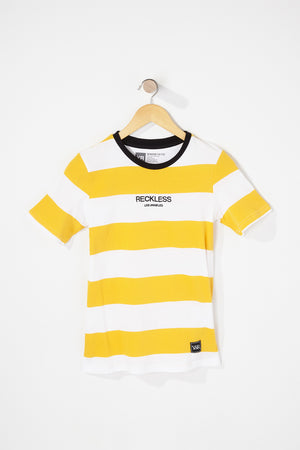 Young & Reckless Boys Striped T-Shirt