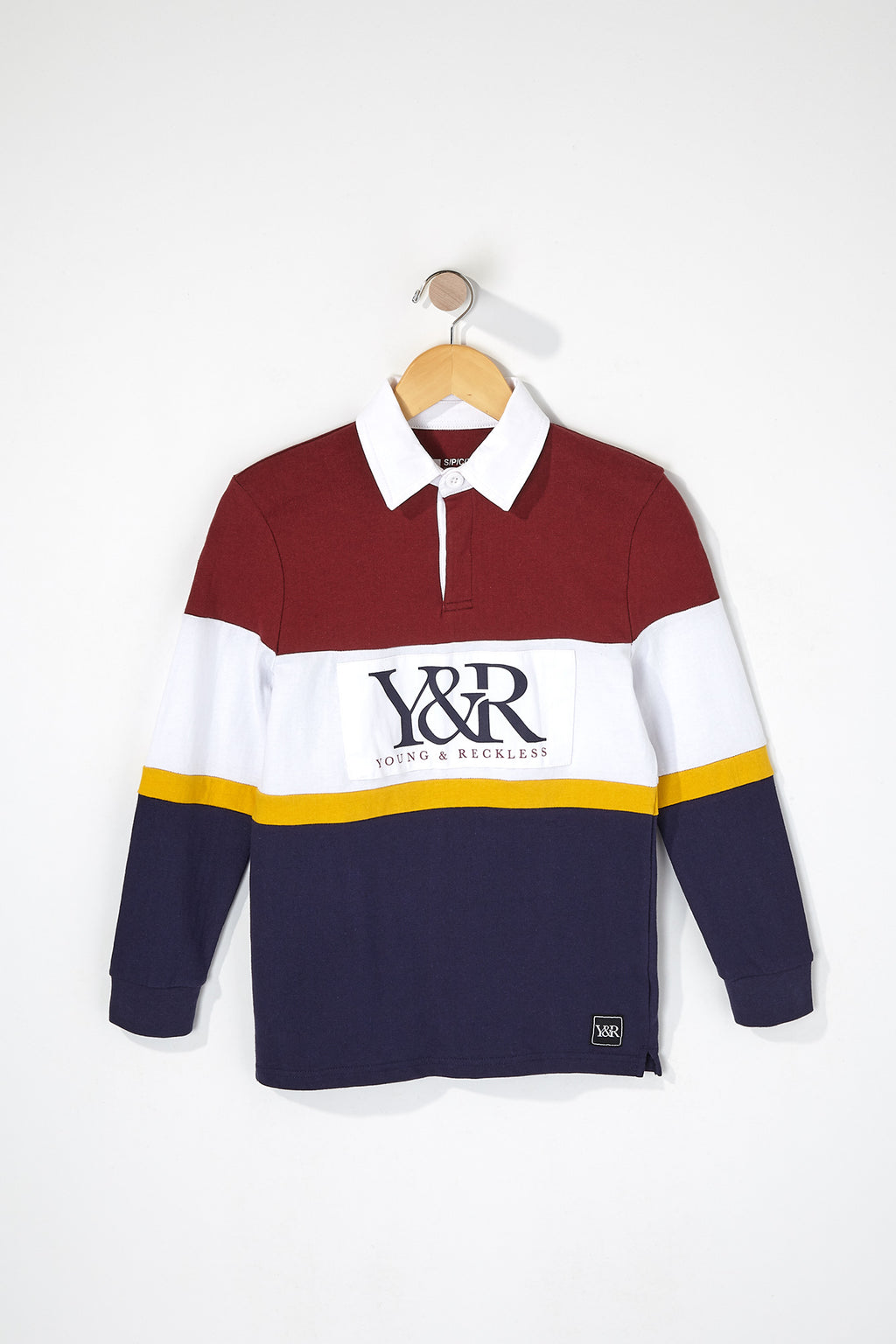 Young & Reckless Boys Rugby Long Sleeve