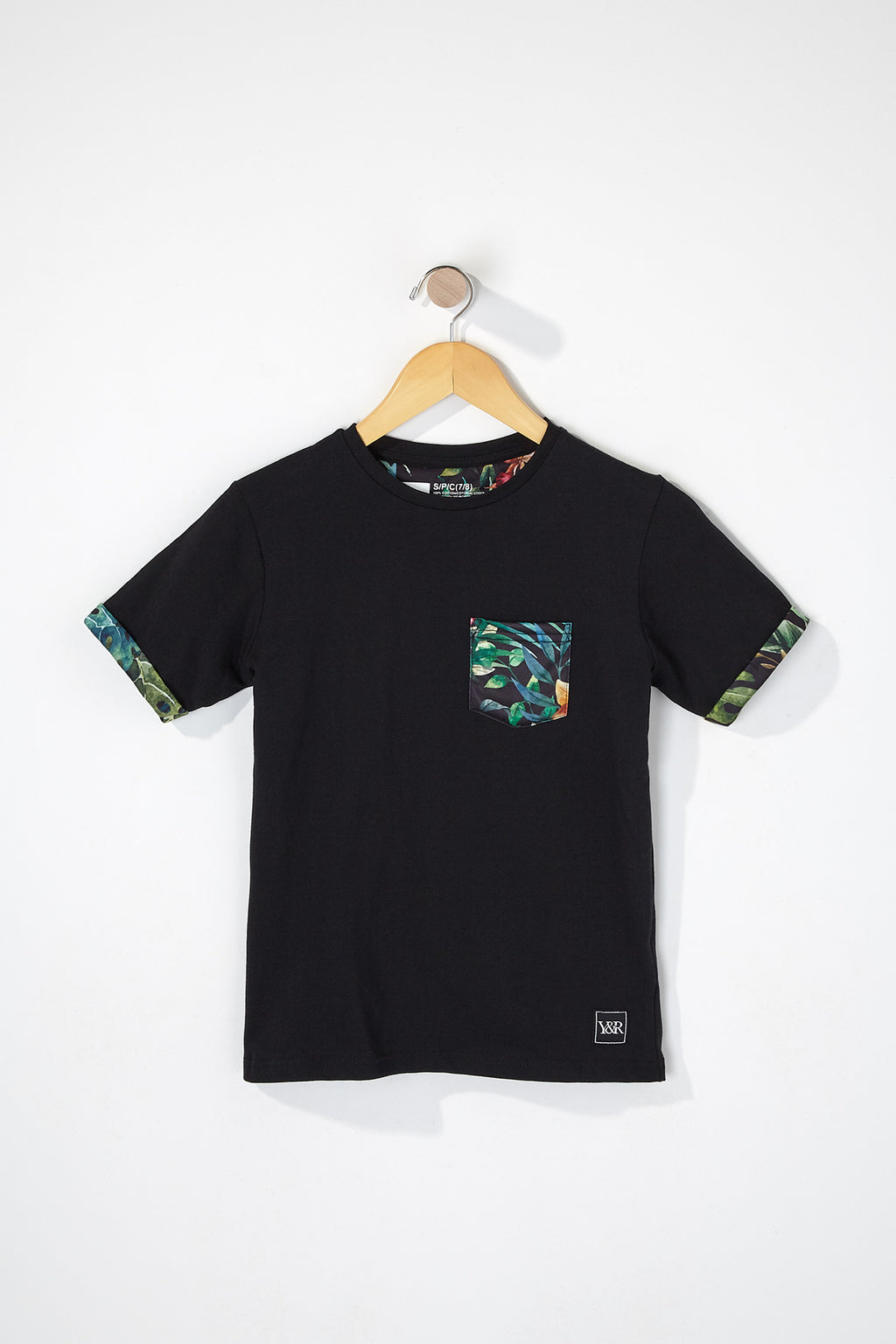 Young & Reckless Boys Tropical Pocket Tee