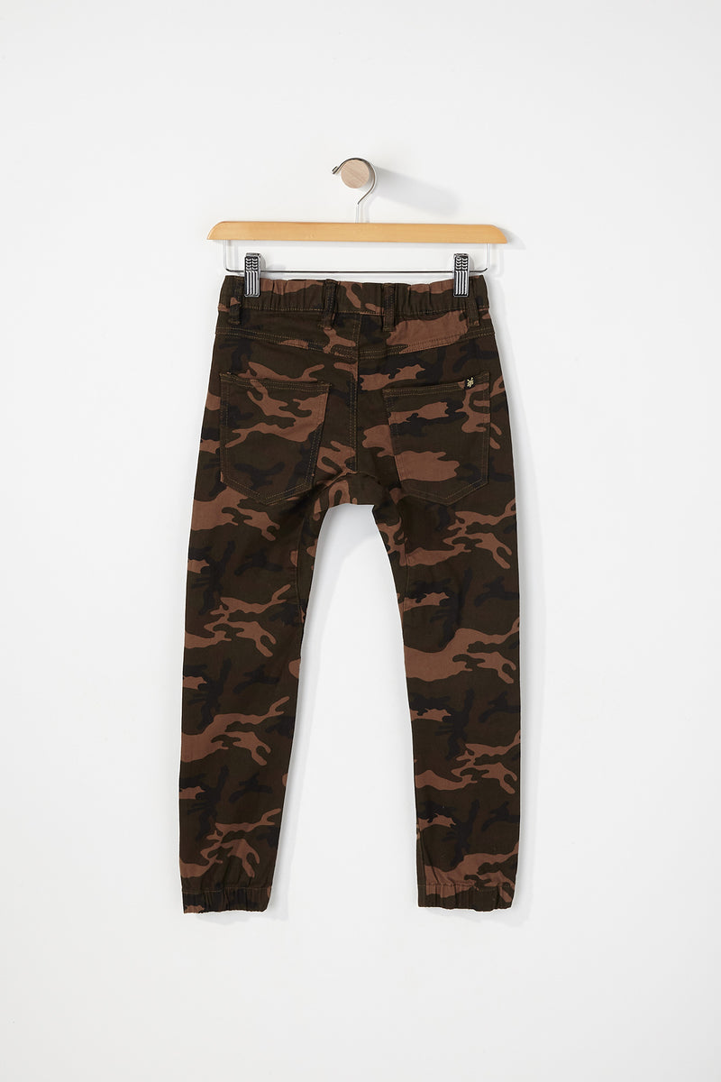 Zoo York Boys 5-Pocket Twill Jogger