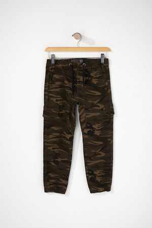West49 Boys 5-Pocket Camo Jogger