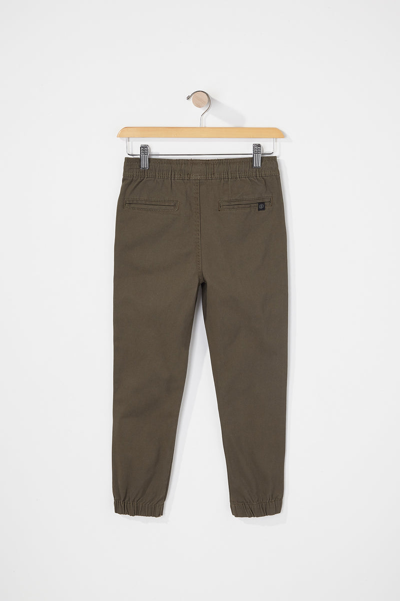 West49 Boys Solid Twill Jogger