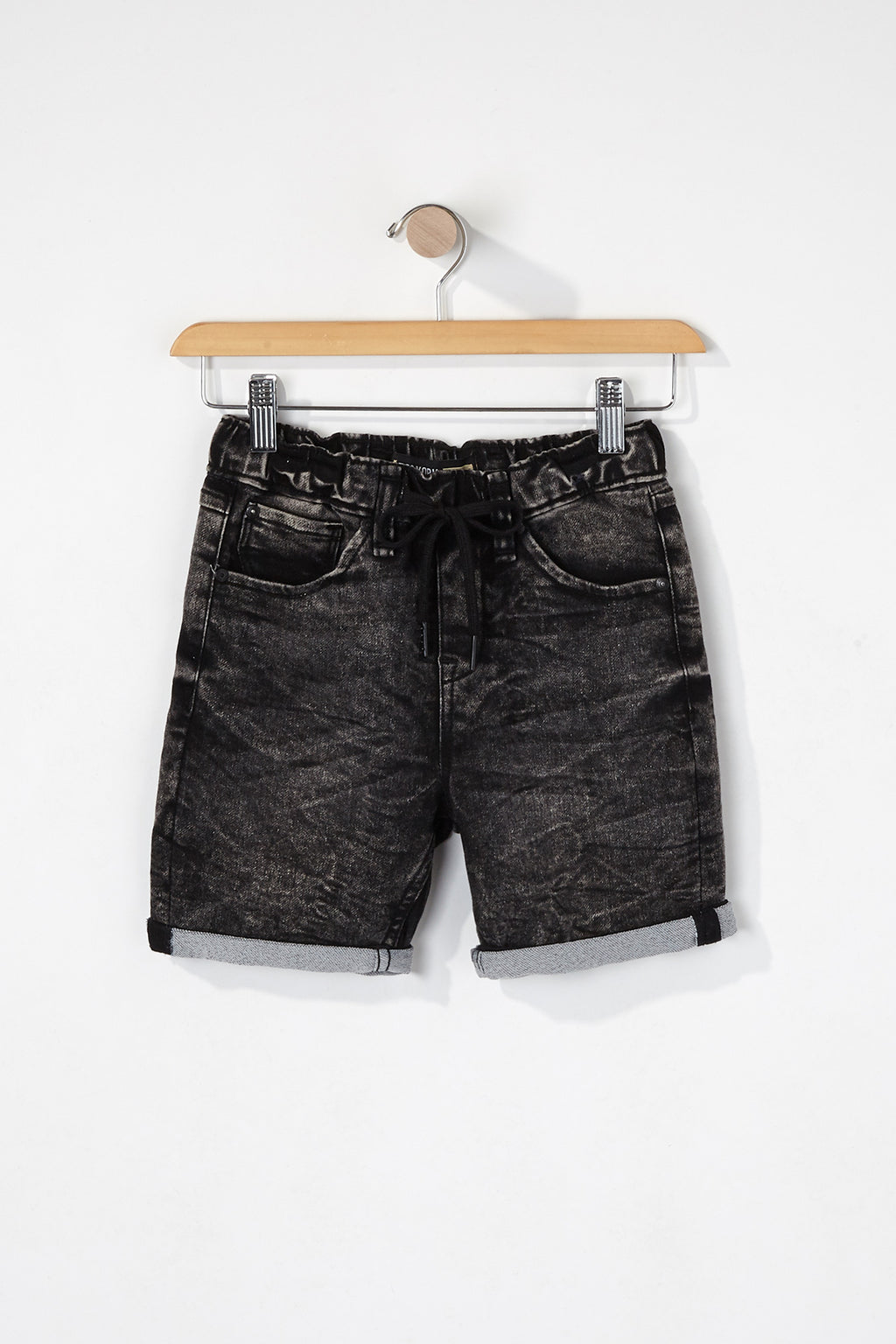 Zoo York Boys Denim Jogger Shorts