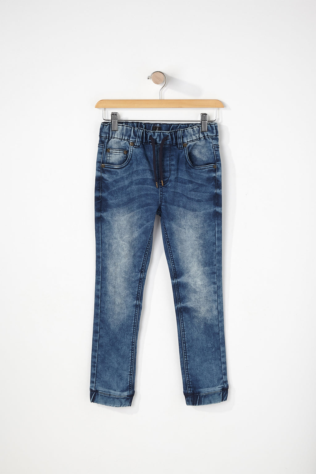 West49 Boys Light Wash Denim Jogger