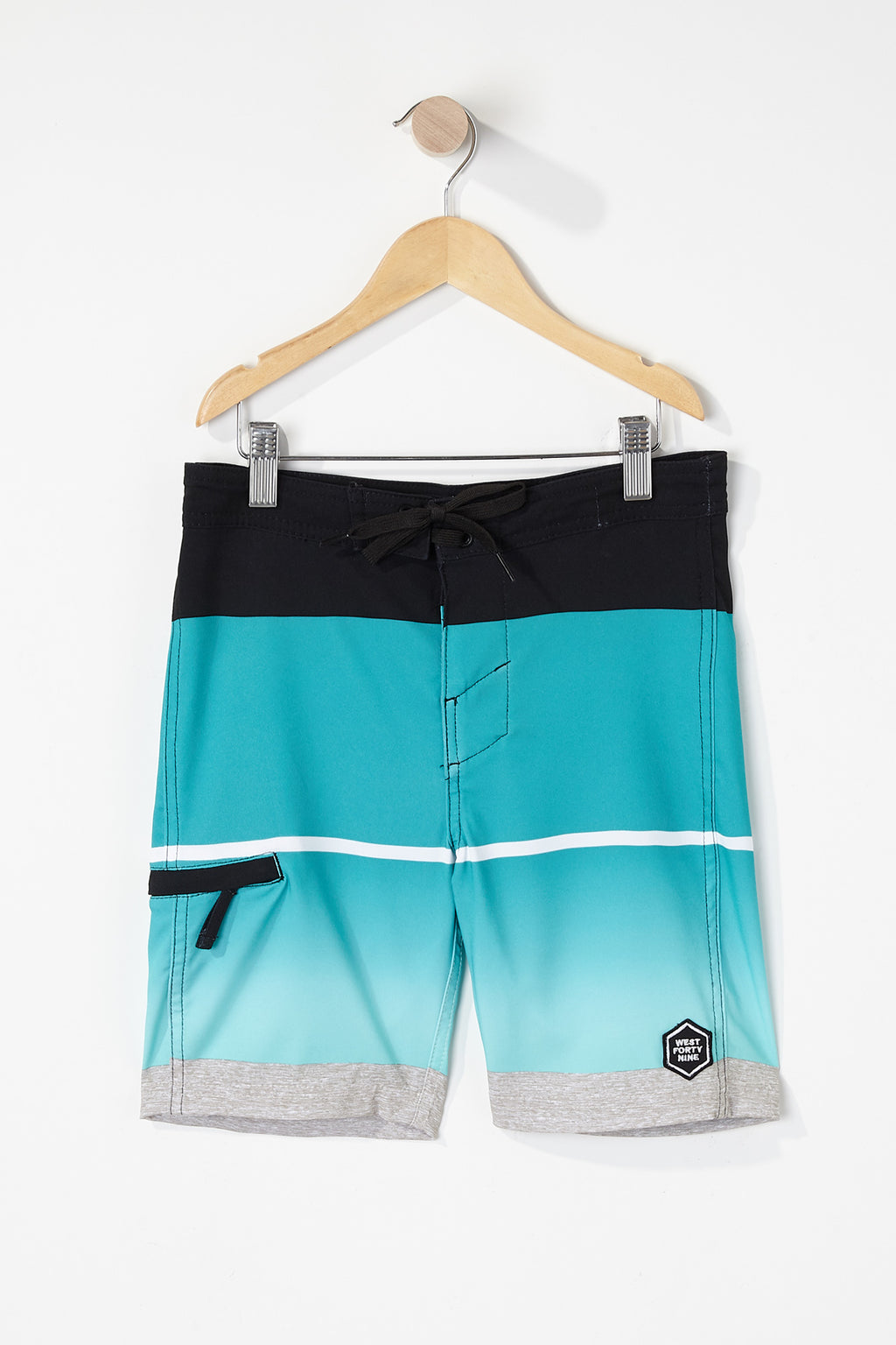 West49 Boys Striped Board Shorts