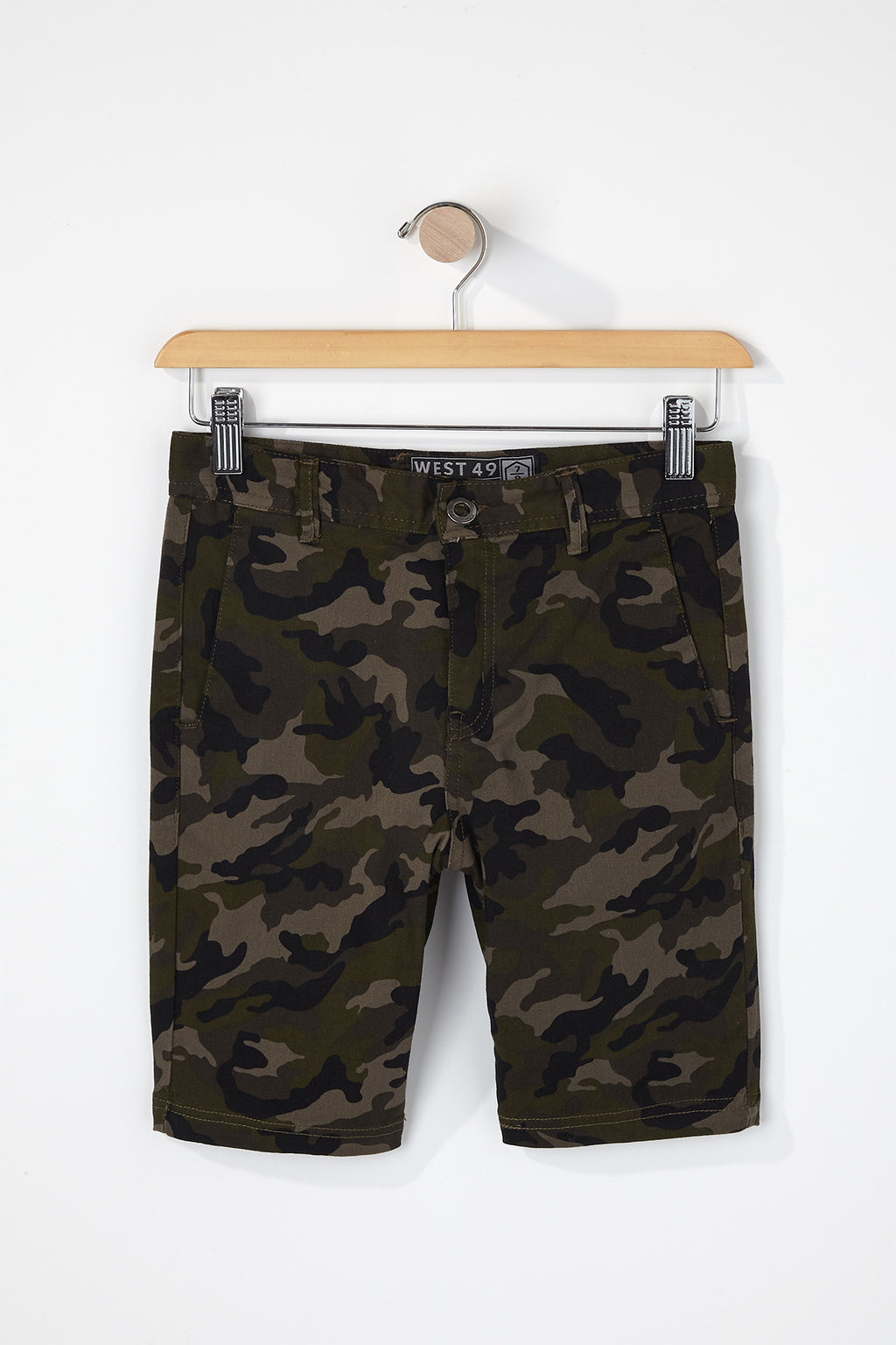 West49 Boys Camo Chino Shorts