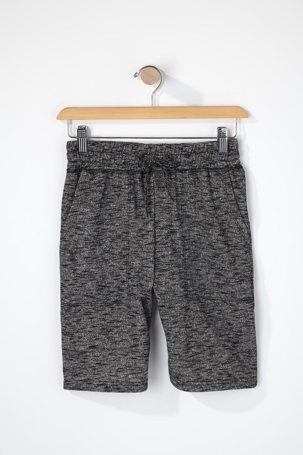West49 Boys Streaky Knit Jogger Shorts