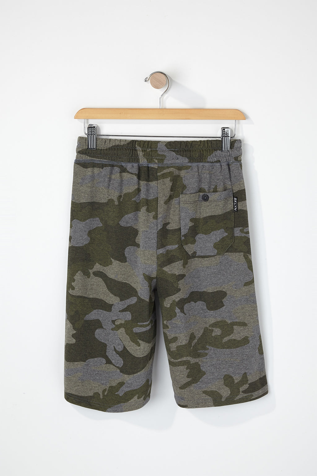West49 Boys Camo Jogger Shorts