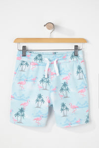 Zoo York Boys Flamingo Floral Shorts