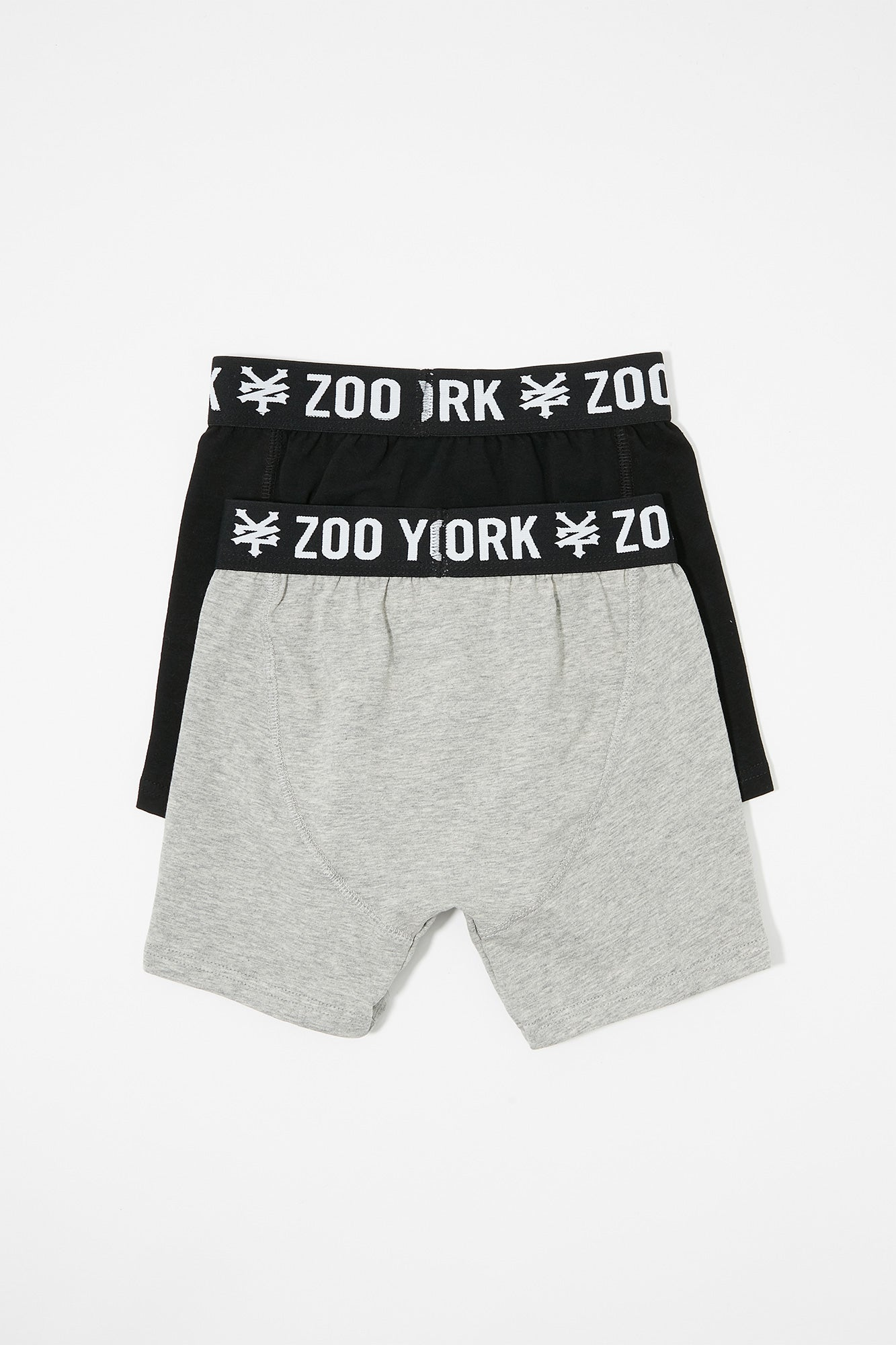 Zoo York Mens Cotton Boxer Briefs (2-Pack)