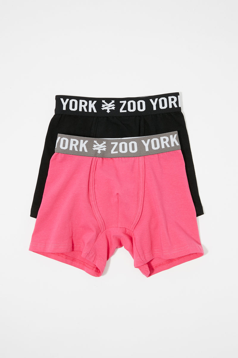 Zoo York Boys Cotton Boxer Briefs (2-Pack)