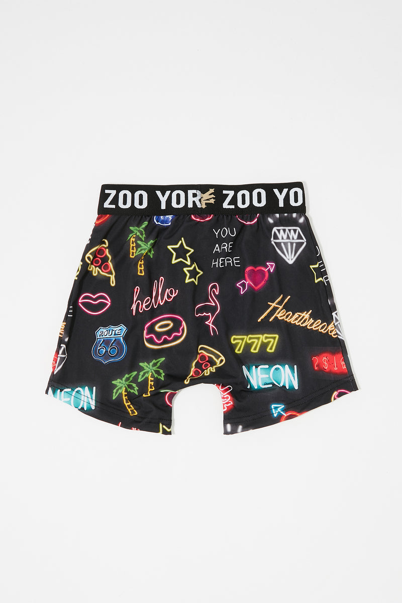 Zoo York Boys Neon Boxer Brief