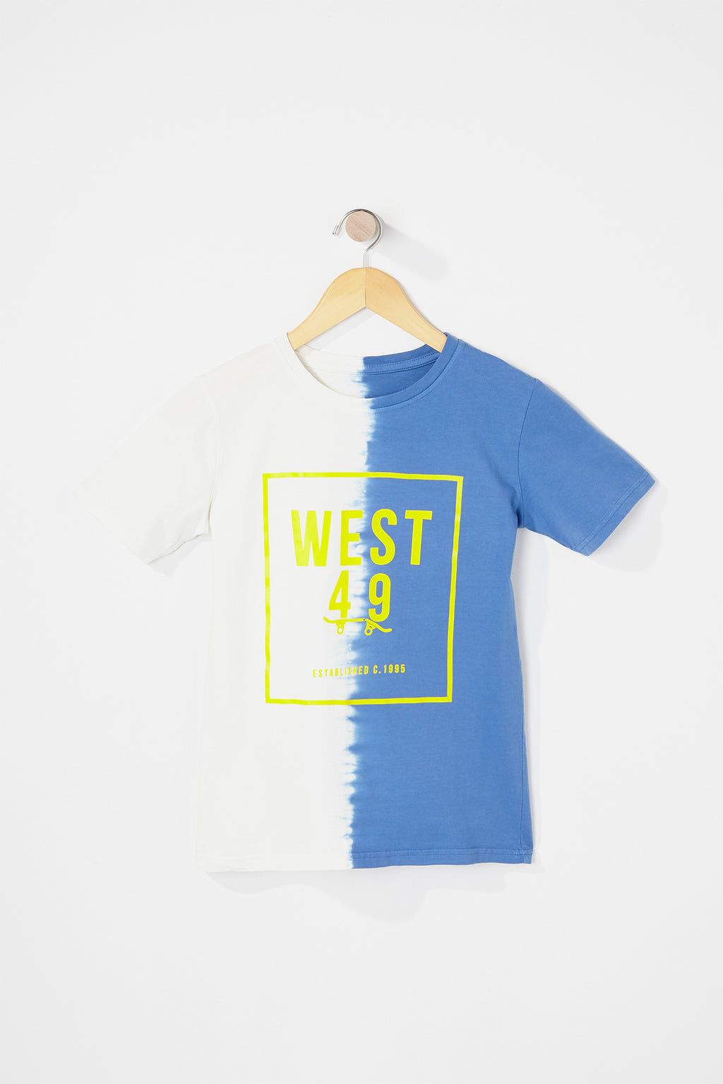 West49 Boys Box Logo Tie Dye T-Shirt