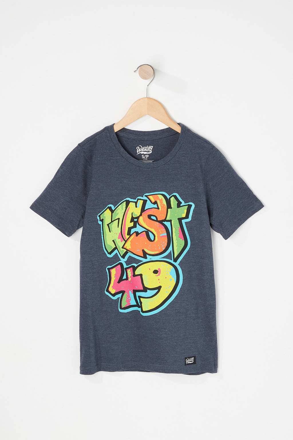West49 Boys Graffiti Logo T-Shirt
