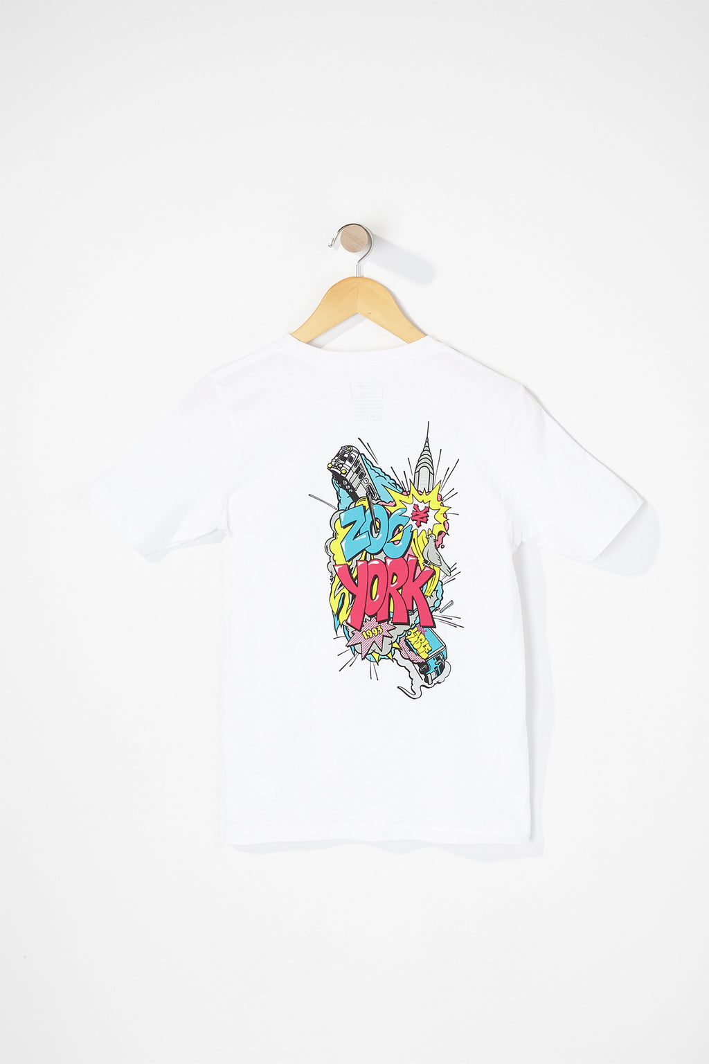 Zoo York Boys Comic Graphic T-Shirt