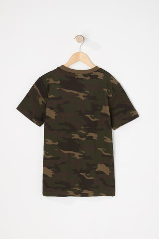 Zoo York Boys Camo T-Shirt