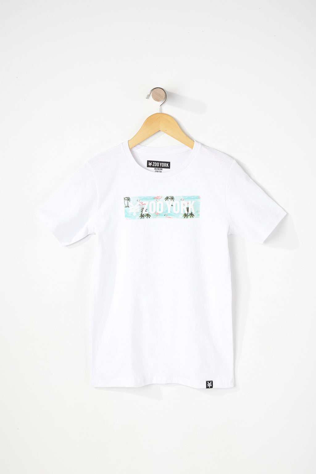 Zoo York Boys Flamingo Box Logo T-Shirt
