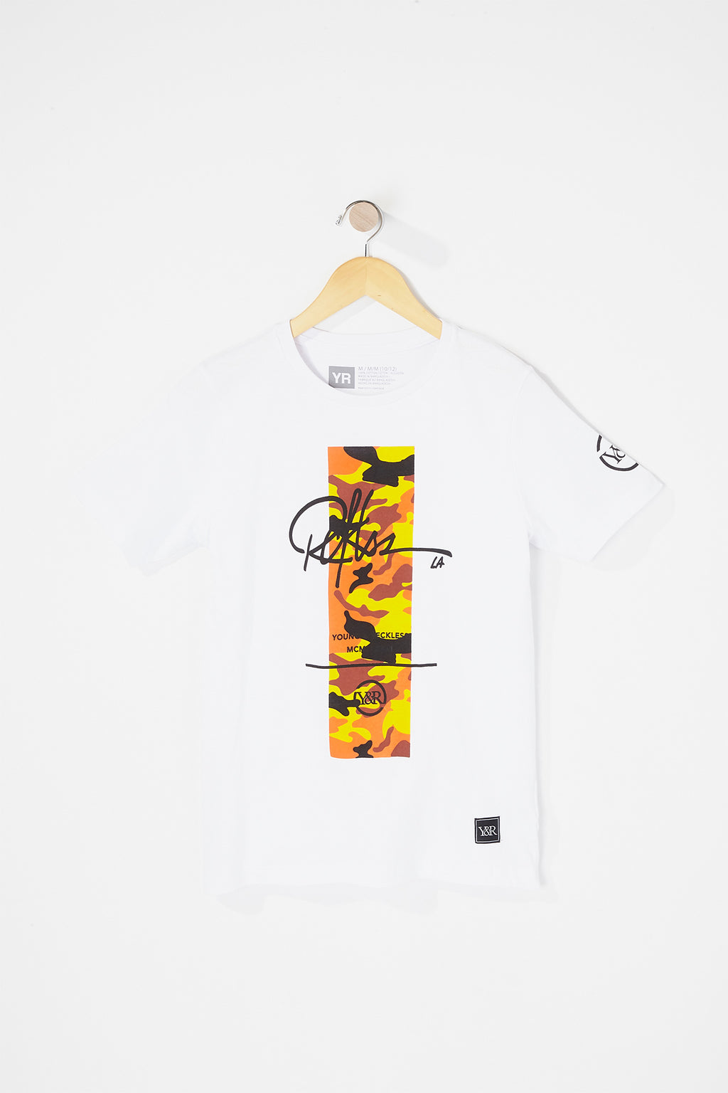 Young & Reckless Boys Tiger Camo T-Shirt
