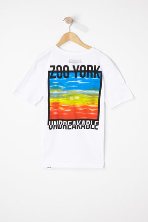 Zoo York Boys Tie Dye Square T-Shirt
