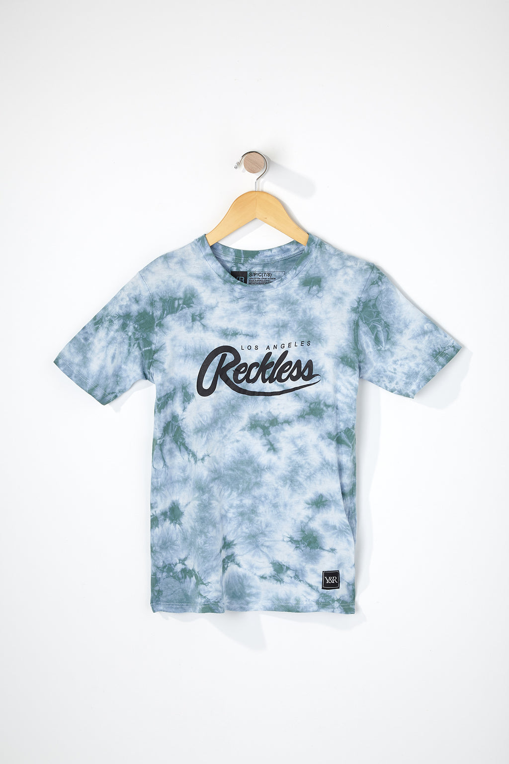 Young & Reckless Boys Script Logo T-Shirt
