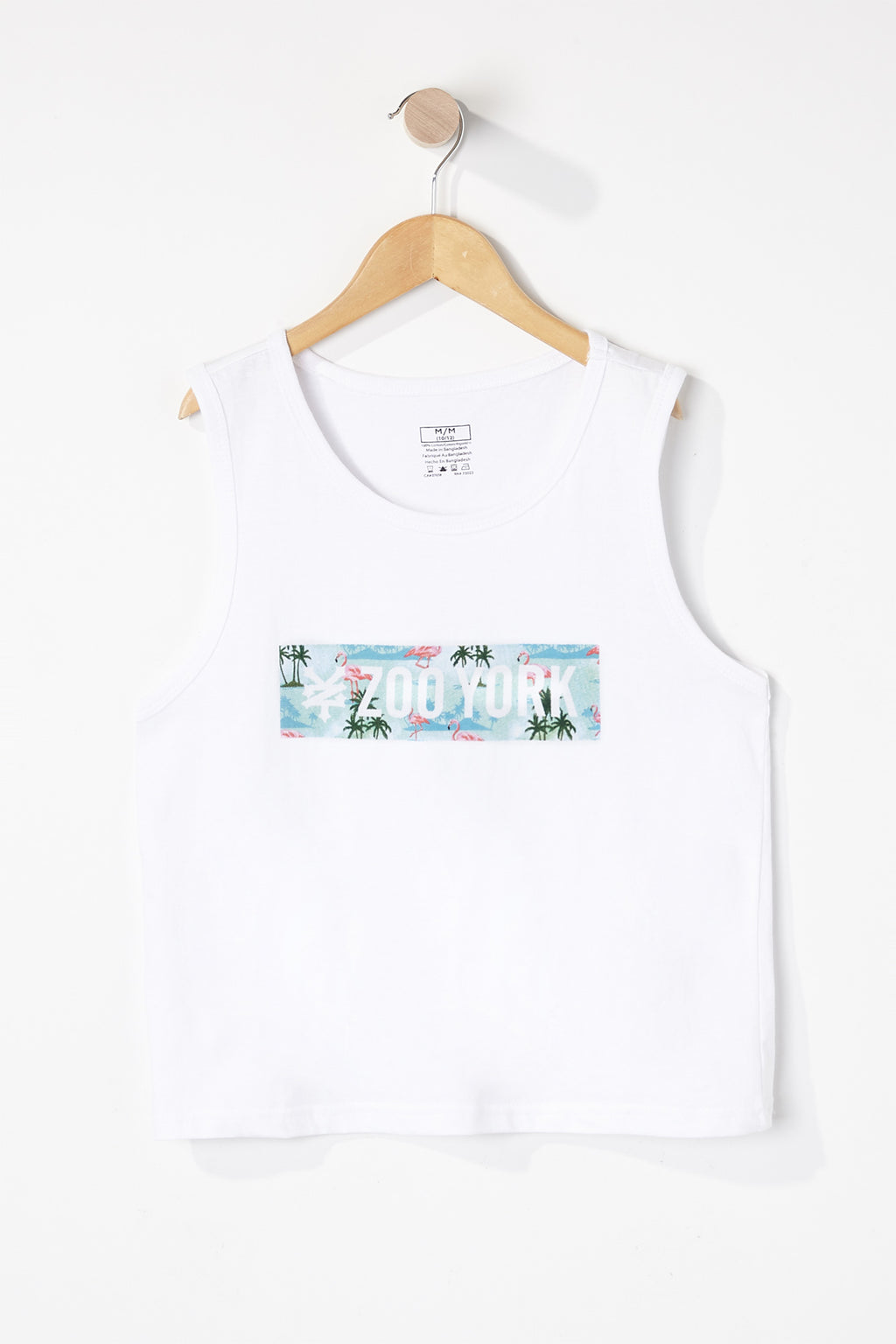 Zoo York Boys Flamingo Tank Top