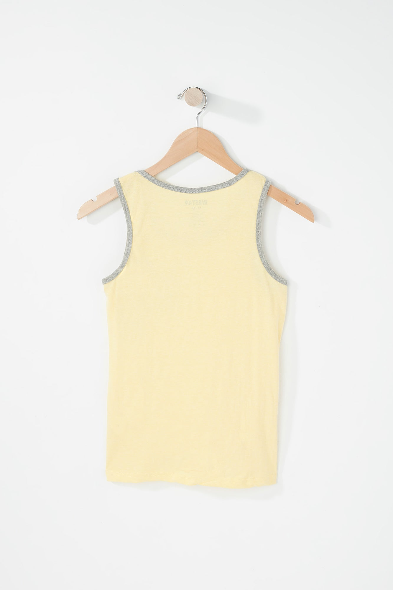 West 49 Youth Grey Trim Yellow Tank
